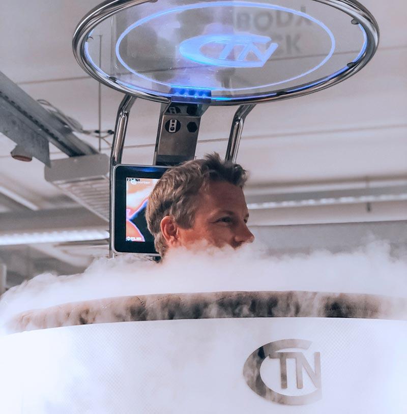 X°Cryo kylmähoitolaite Turussa